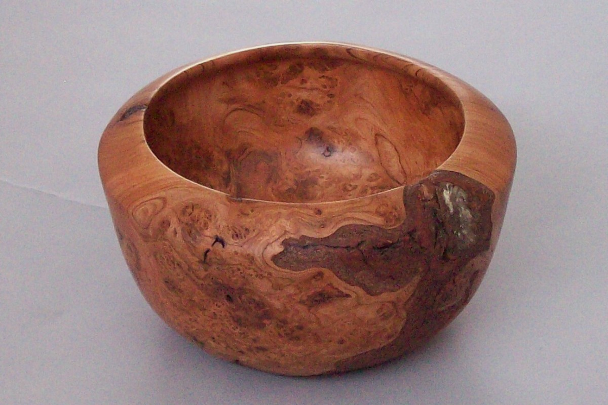 Cherry Burl Bowl 1