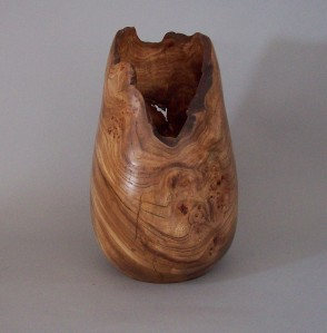 Red Elm Vase 1. Private collection