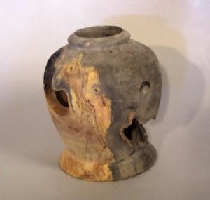 Buckeye Burl Vase 1