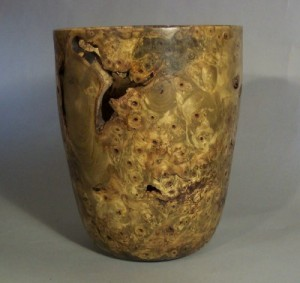 Buckeye Burl Vase 2. Private collection