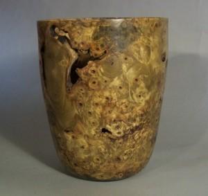 Buckeye Burl Vase 2. Private collection