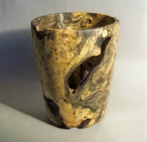Buckeye Burl Vase 4