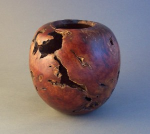 Manzanita Vase 5. Private collection