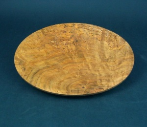 White Oak Burl Platter 1. Private collection