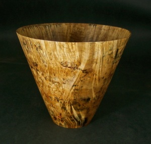 Spalted Maple Bowl 4.Private collection